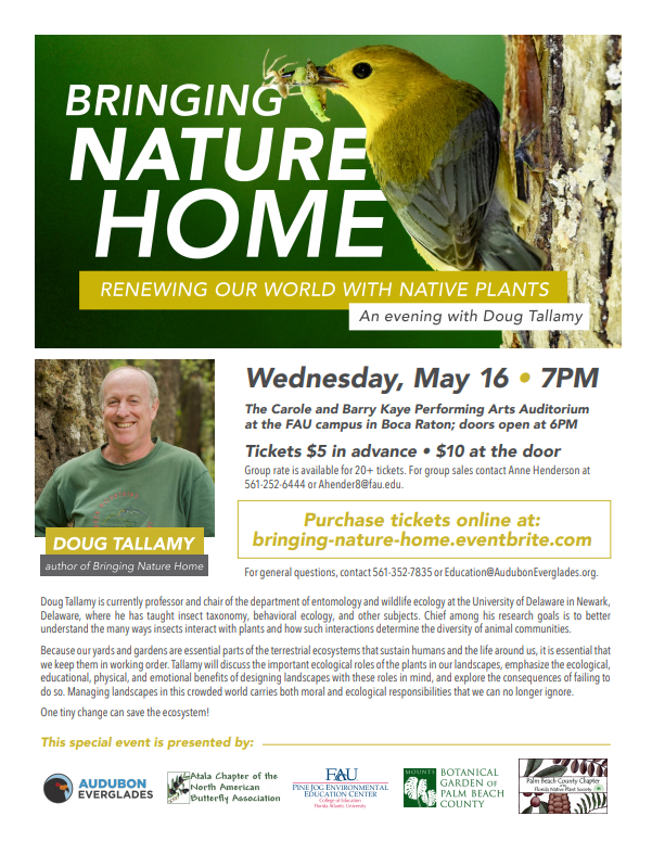 Join Us for an Unforgettable Evening with Doug Tallamy